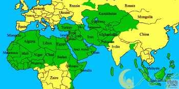 نقشه اتحاد جماهیر اسلامی